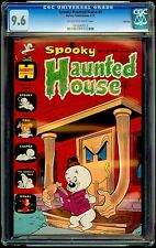 Spooky Haunted House #5 Harvey CGC 9.6 Jun-73 – Haunted House reaches for Spooky