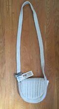 Inge Sport Vanilla Curved Flap Small Shoulder Handbag New W/Tags