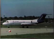 (xb8) Airplane Postcard: KLM Cityhopper, Fokker F28 Mk4000
