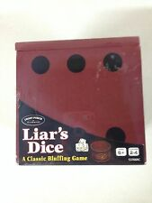 "University Games - Liar's Dice ""A Classic Bluffing Game"" New In Box"