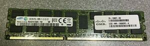 Cisco 8GB DDR3 PC3L-12800R ECC REG RAM M393B1K70QB0 1600MHz 2Rx4 **Neuwertig**