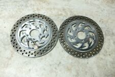 07 Harley Davidson Street Glide FLHX front brake rotors disks aftermarket