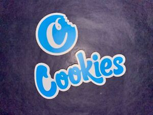blue, cookies brand, weed stickers, new