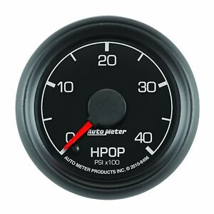 AUTOMETER HPOP 8496 FORD POWERSTROKE 0-4000 PSI FACTORY MATCH GUAGE SHIPS FREE