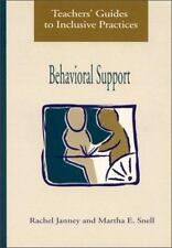 NEW BOOK! Behavorial Support by Rachel Janney, Martha E. Snell