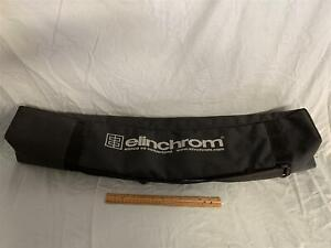 """Black Elinchrom 33"""" Light Stand Bag/Carrying Case w/ 2 Compartments"""