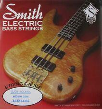KEN SMITH SRM SLICK ROUNDS BASS STRINGS, MEDIUM GAUGE 4's  44-106
