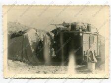 Foto, Sonderverband 288, PKW, Funkkraftwagen, Einsatz in Afrika, (G), 74 (W)1220