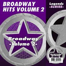 Broadway Musical Karaoke CDG CDs Legends Vol 3 NEW 3 Day Ship