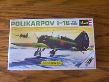 vintage Revell 1/72 scale Polikarpov I-16 model kit.[still sealed]