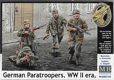 1:35 Master Box 35145 - German Paratroopers, Wwii era - 4 Figure Model Kit