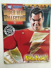 DC COMICS SUPER HERO FIGURE COLLECTION ISSUE 15 SHAZAM! EAGLEMOSS MAGAZINE