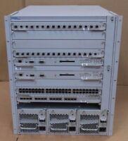 Nortel Networks Passport 8010 Managed Switch 10-Port With 3x 850W PSU + Modules