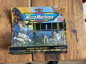 Micro Machines Alien Collection 1 Galoob Aliens New Predator In Packaging Box