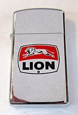 1976 Zippo Cigarette Lighter LION GASOLINE near mint or nicer *