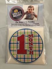 Sticky Bellies For Boys Plaid Design New