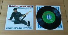 "Gary Moore Always Gonna Love You 1982 Japan 7"" Single Insert Classic Hard Rock"