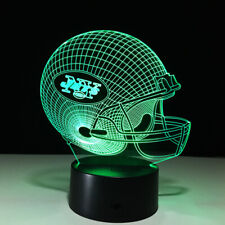 New York Jets Ny Led Light Lamp Collectible Le'Veon Bell Home Decor Gift