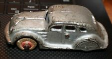 1933 Century of Progress Chrysler Arcade Airflow Silver Cruiser Cast Iron Toy