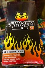 Flamez - Printed Cigarette Rolling Papers Full Box Sealed RARE L@@K