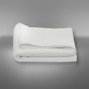 Tuch Handtuch Gästetuch Badetuch 70 x 140 weiß aus Baumwolle 550Gr./qm - 1 Stk.