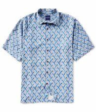 TOMMY BAHAMA Silk ALCAZAR TILES Shirt sz 2XT NWT $150.00 DR COBALT