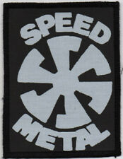 SPEED METAL PATCH / SPEED-THRASH-BLACK-DEATH METAL
