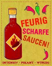 Feurig scharfe Saucen - Chili Saucen selbstgemacht BUCH NEU