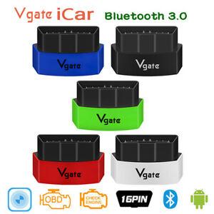Vgate iCar3 Bluetooth 3.0 OBD2 Car Diagnostic Scanner Support BimmerCode For BMW
