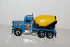 1981 Matchbox PETERBILT Cement Truck ~ 1:80 Scale ~ Macau ~ Nice! ~ VNM