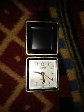 Advance Quartz Compact Clock Travel Portable