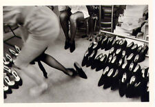 Fall Collections PARIS 1975≈SHOES≈Photo by Guy Le Querrec Magnum POSTCARD 4x6