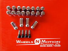 14X2 MM LUG NUTS  KIT CHROME  ford  20pc kit