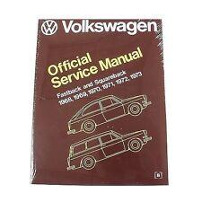 Volkswagen Fastback Squareback Repair Manual Bentley VW8000311