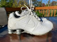 Nike Shox Classic II White Running Shoes Youth GS Size 5Y 309643-110