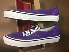 Vans Authentic 44 DX (Anaheim Factory) Purple Size US 10 Mens VN0A38ENQSW