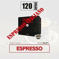 120 capsule compatibili bialetti* caffè milano mokona cuore gratis