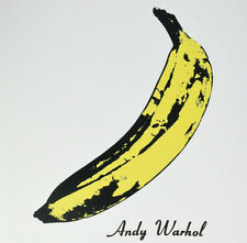 THE VELVET UNDERGROUND & NICO - ANDY WARHOL ARTWORK VINYL LP REISSUE SEALED