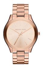 Michael Kors Slim Runway Watch -MK3197 Rose Gold 42mm