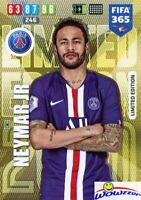 NEYMAR JR Paris Saint-Germain 2020 Panini Adrenalyn FIFA 365 LIMITED EDITION
