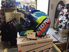 Casco Helmet Airoh Off Road Switch Sign L Blue Gloss