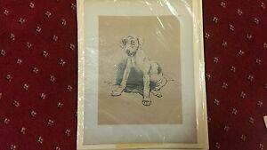 x4 vintage Cecil Aldin 1902 Jack Russell Terrier Dog Prints