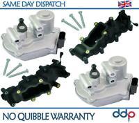 2X Intake Manifold + Flap Actuator Motor For Audi A4 A5 A6 A8 Q7, VW Touareg 2.7