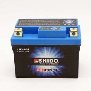 Shido LTZ5S Lithium Ionen Batterie YTZ5 Polaris Sportsman Scrambler Outlaw 50 90