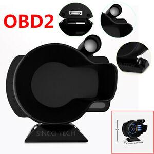DO916 OBDII Sinco Tech Multi-functions Dash Speed RPM Water Temperature Voltage