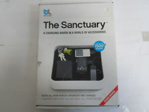 Blue Lounge The Sanctuary Device Organizer and Charger - White (TS-01-WH)