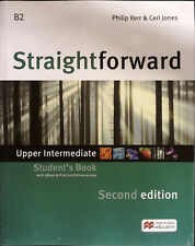 Macmillan STRAIGHTFORWARD 2nd Edit UPPER INTERMEDIATE Student's Book +extras NEW