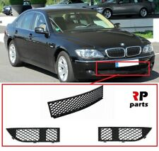 FOR BMW 7 SERIES E65/66 05-08 FRONT BUMPER LOWER CENTER MESH GRILLE PAIR SET