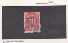 1903 Alsener Kreisbahnen German States 10pf Railway Eisenbahn Express Revenue