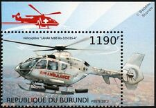 EUROCOPTER EC135 Air Ambulance Helicopter (Korean Air Lines) Aircraft Stamp